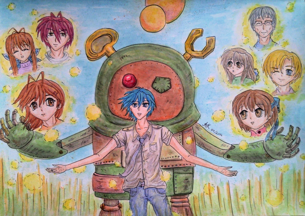 Clannad: The place where wishes come true by ZazzyAK