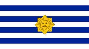Alt Flag Uruguay - 4