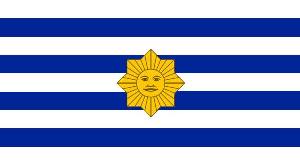 Alternate South America Project On MapsAndFlags DeviantArt - Uruguay flag