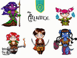 Glory to the Alliance by hrfarrington