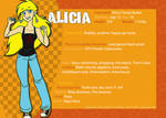 Reference Sheet - Alicia