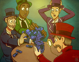Top Hats and Jenga - Commish 2/2