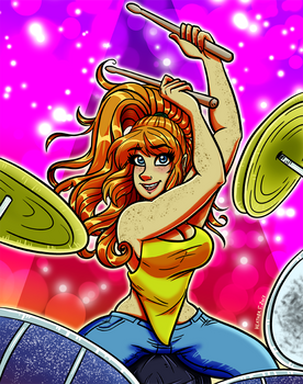 GDG Theme - Sexy Drummer