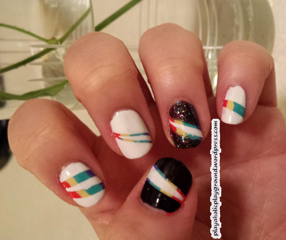 League of Legends manicure Lux nails by Flare570 on DeviantArt