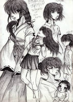 My future, past and present by Kagome-Miko-207