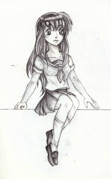 kagome: Sit with me..........