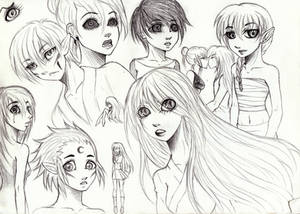 Sketches: Random OCs
