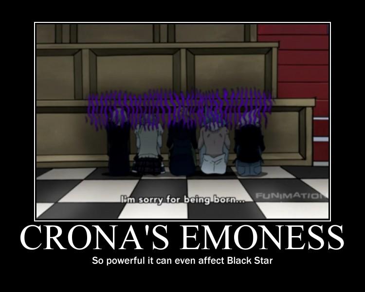 Crona's Emoness by animaniac43