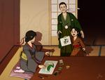 Asougi Family by plaguelily