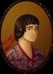 Sayaka Asougi by plaguelily