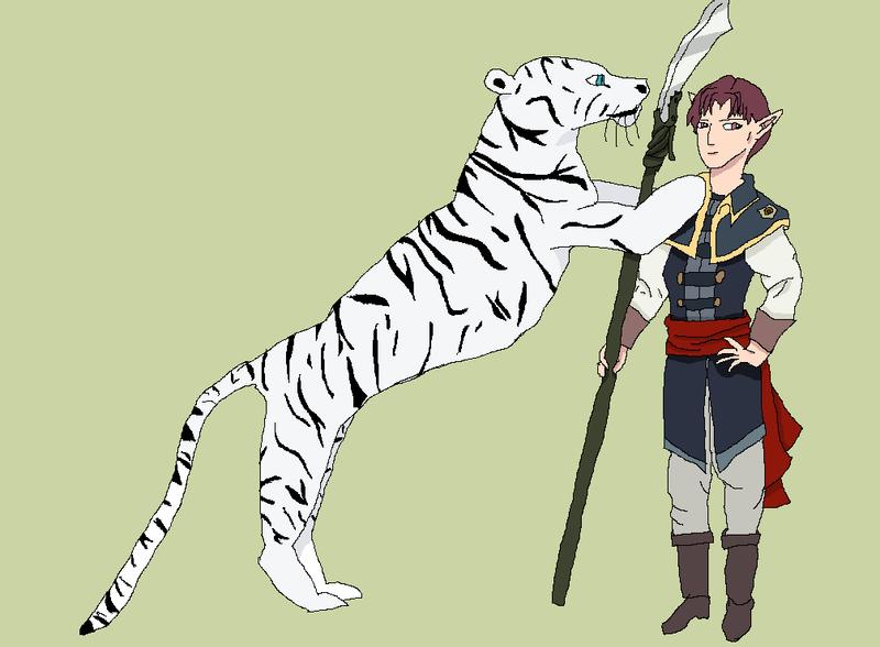 Azz and Leo by Tsukinin