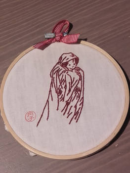 Ghost embroidery