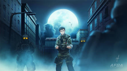 BlackShot Revolution Illustration - Halloween by AFBA