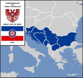 Commonwealth of Great Yugoslavia map by SvetoslavSokol