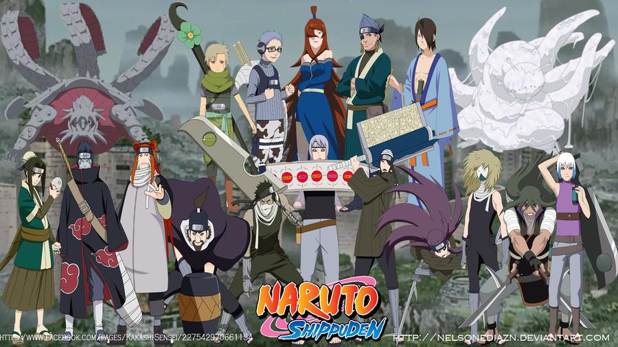 Ninjas Of Kirigakure (Somebodys) by NelsonEDiazN on DeviantArt