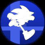 Super Smash Bros Sonic The Hedgehog Button