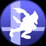 Super Smash Bros Falco Button