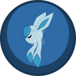 Glaceon Button
