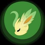Leafeon Button