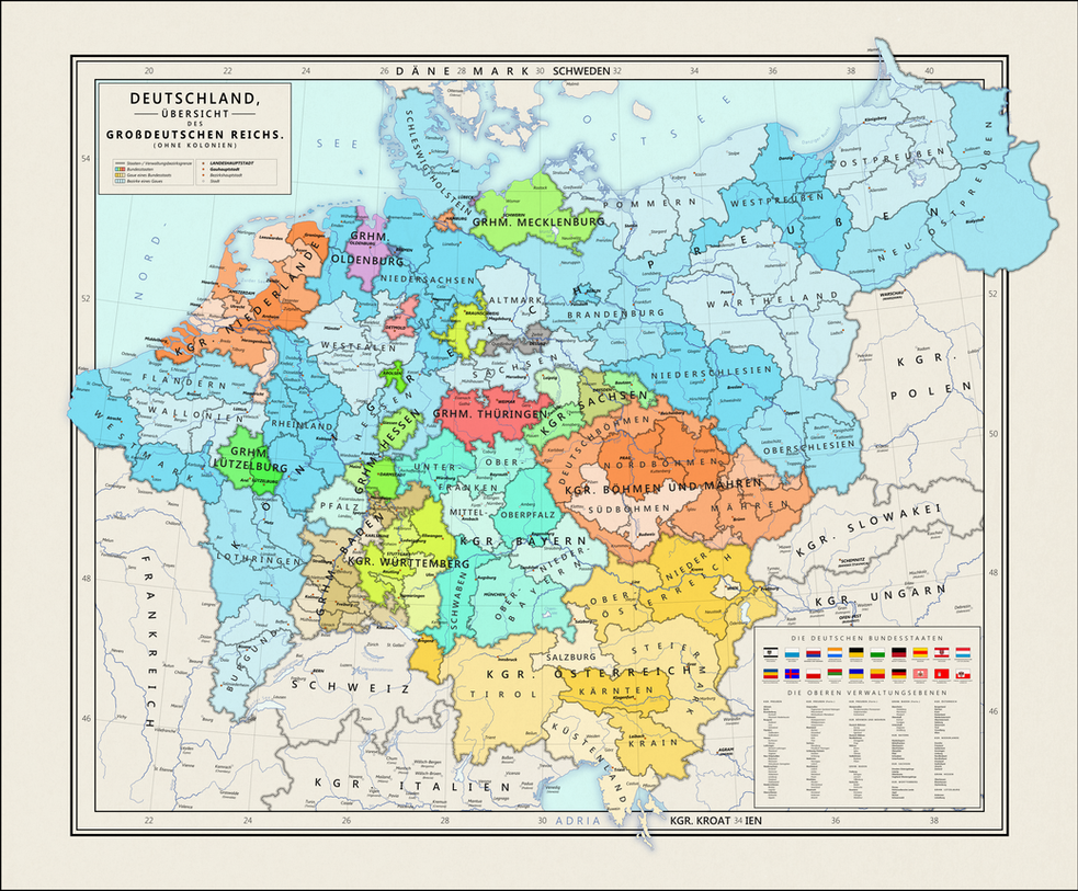 Greater Imperial Germany by SoxWithPotatoes