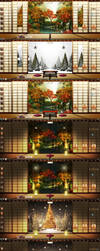 Japanese Interior Full by jlfarfan