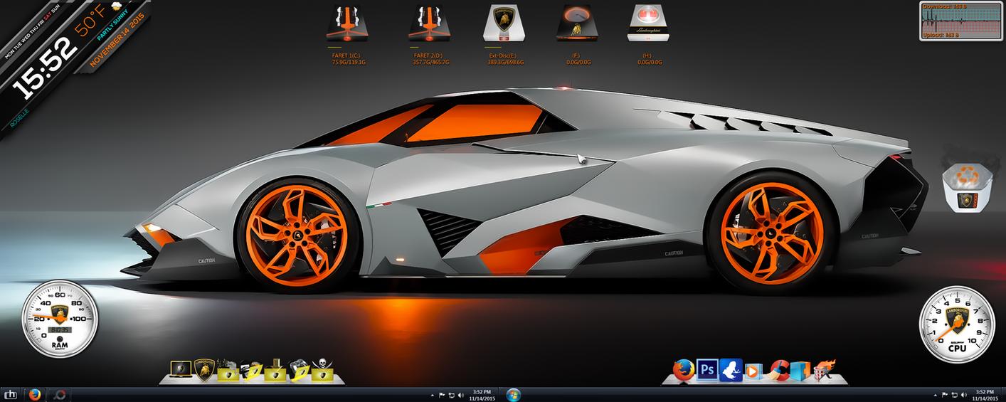Lamborghini Egoista Screenshot by jlfarfan