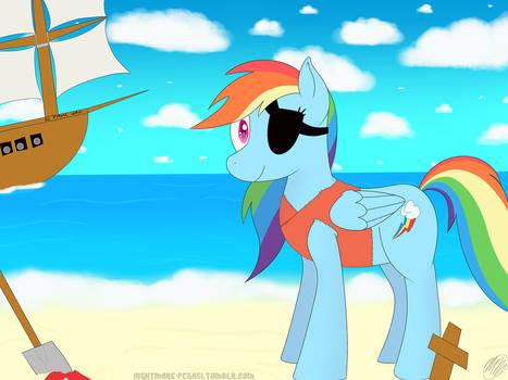 Pirate Dash on the Beach