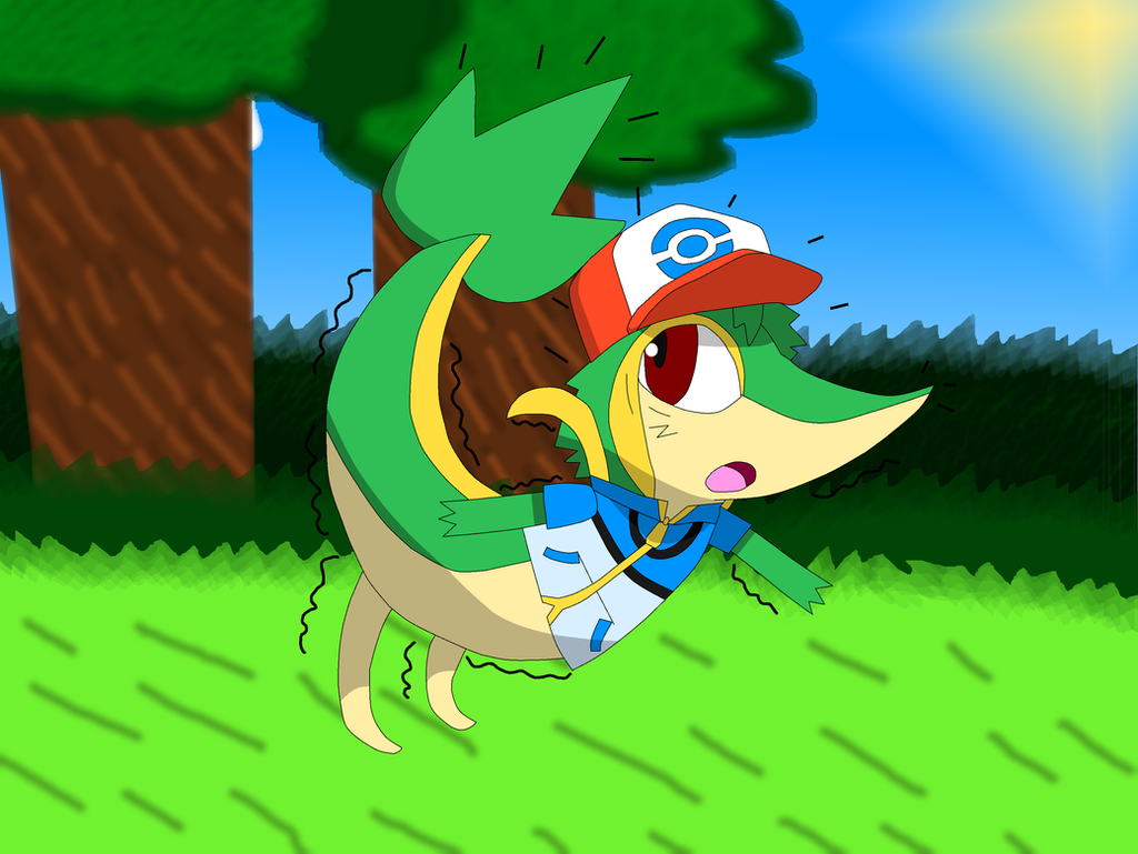 ash tf to snivy redux by pikachufan60 on deviantart