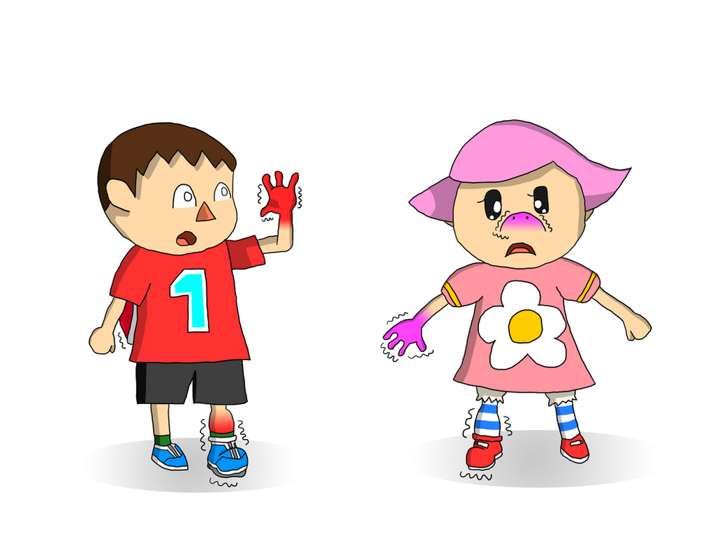 AC Villagers to Red and Pink Yoshi TF Part 1 by ...