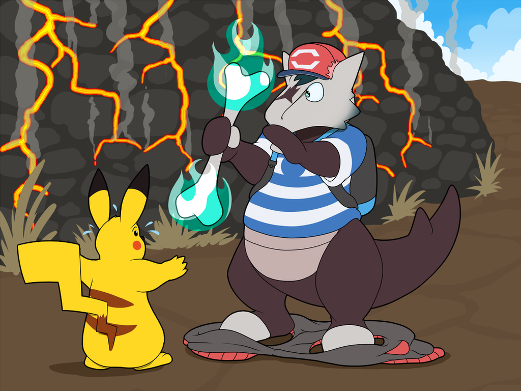 Pokemon TF On Trasformation