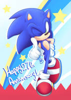 Anniversary Hedgy by Soloya64