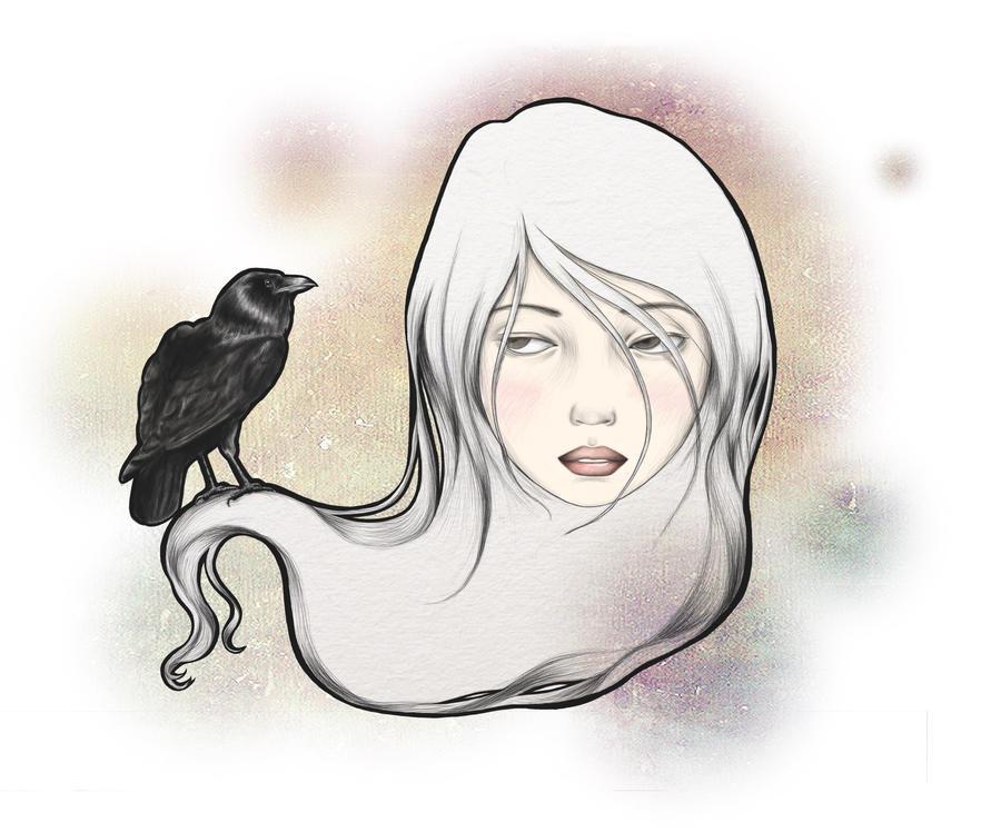 Raven by danasanmar