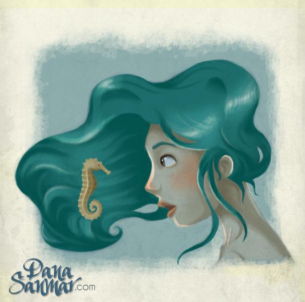 A seahorse! by danasanmar