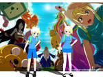 MMD Adventure Time Finn and Fionna Download