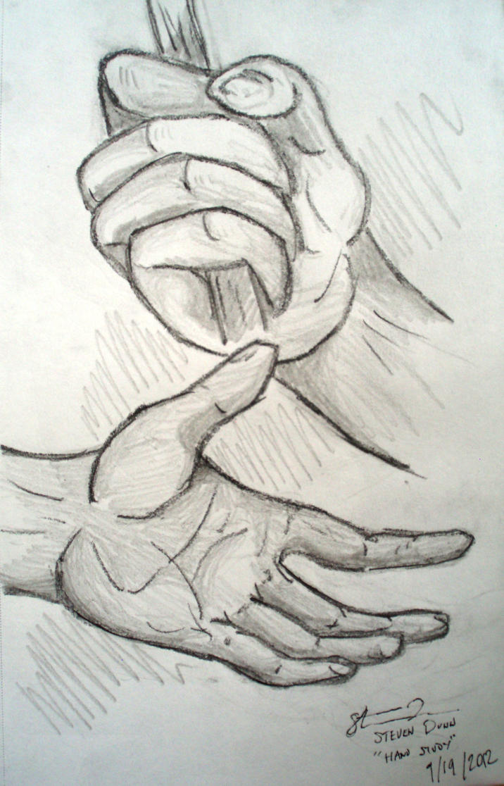 Rough Hand Sketch by Dunn95