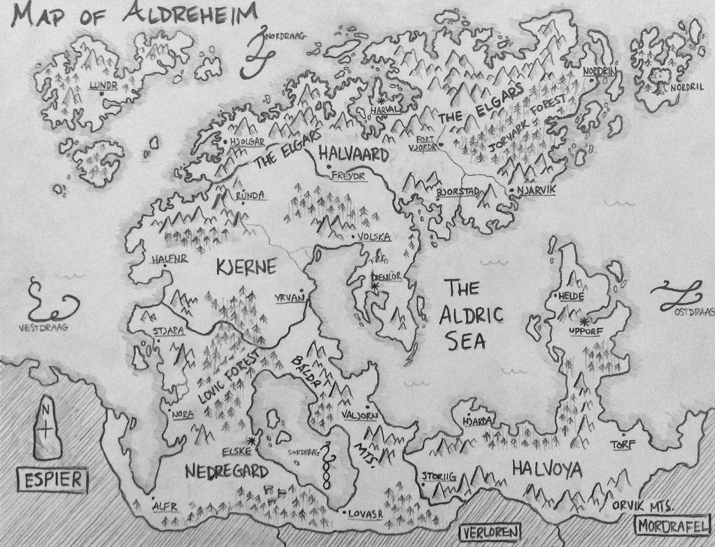 Map of Aldreheim by Dunn95