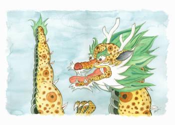 Korean Dragon I by zwendel