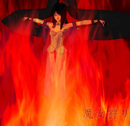 BURN THE WITCH BURN HER by softsai