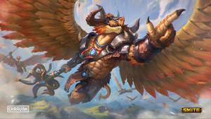 SMITE: Horus-Dragonspawn Warrior