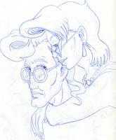 Janine Hugs Egon by SandySchreiber