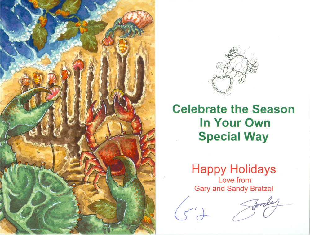 2015 Holiday Card for Gary and Sandy by SandySchreiber