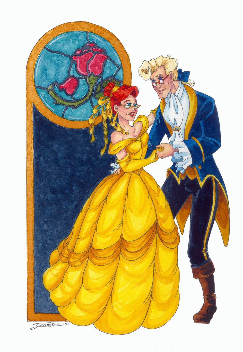 Tale as Old as Time by SandySchreiber