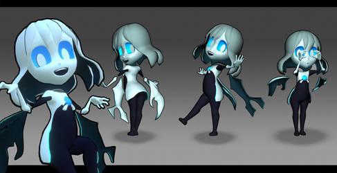 Hollow Race Ghost Girl