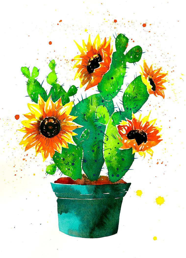 Sunflowers by katy-ska