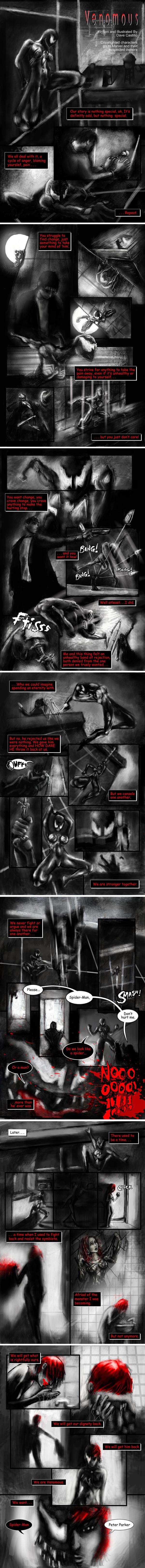 Venomous (She-Venom Fan Fiction) by purplecastillo