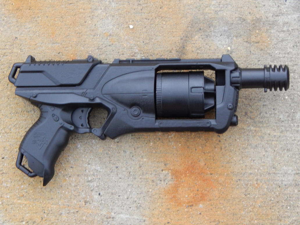 Nerf Strongarm optischer Mod