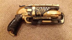 Steampunk Hammershot Revolver