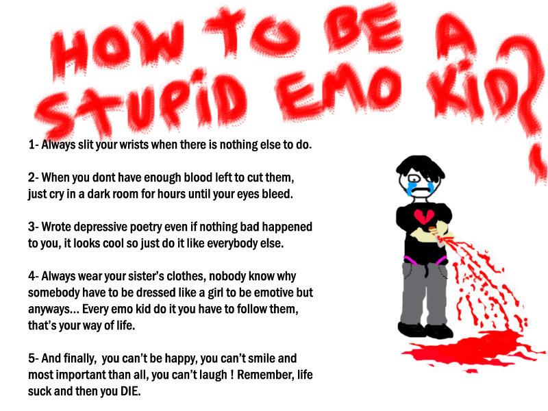Emo Kid It S Not That Bad