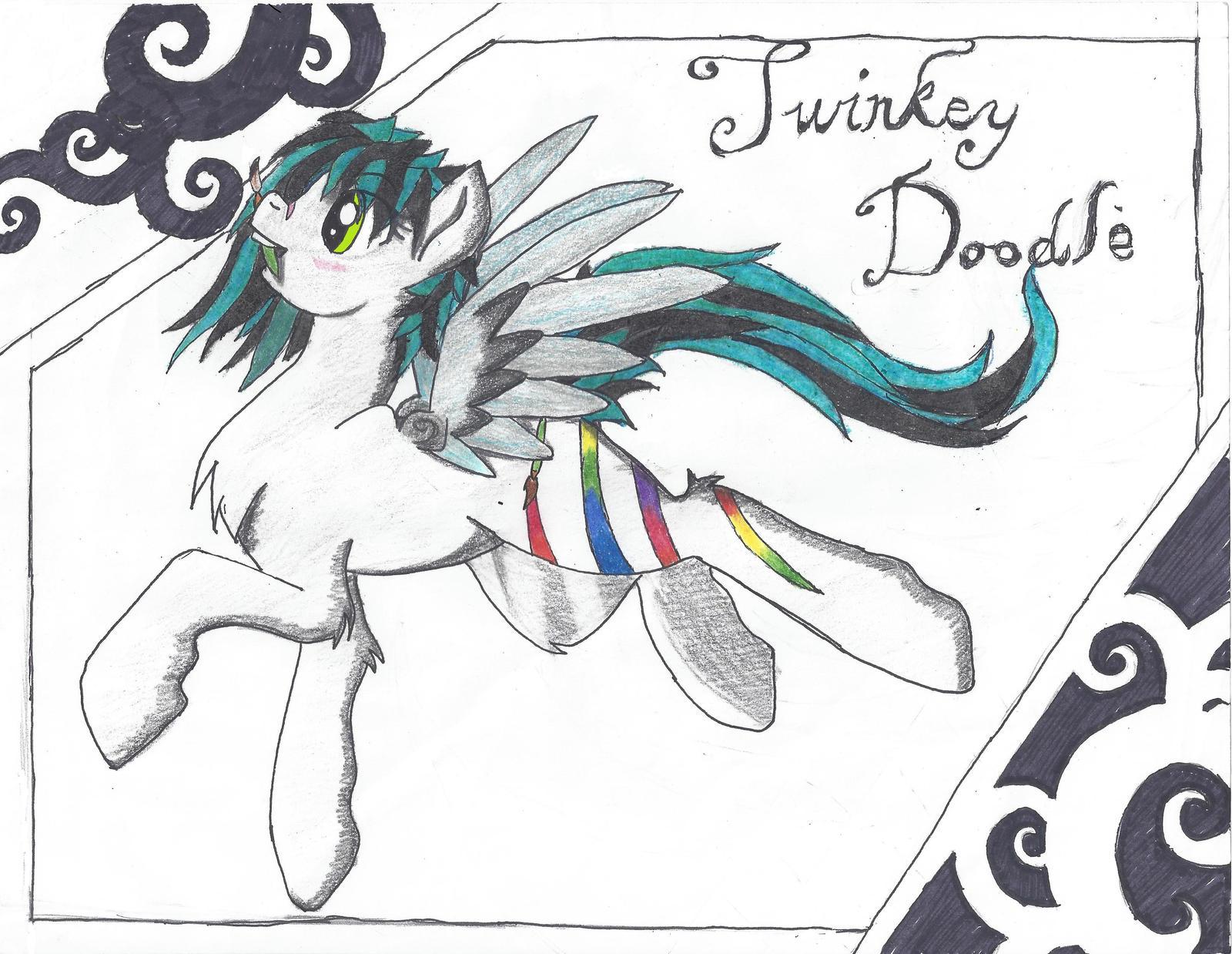 Twinkey Doodle by KiraNightViolet