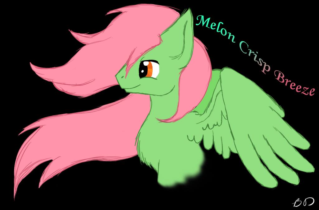 Melon Crisp Breeze by KiraNightViolet